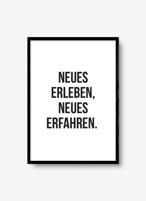 erleben poster auf joyposter.de